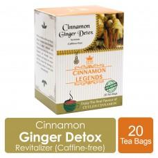 Cinnamon Ginger Detox Tea 20 Tea Bags