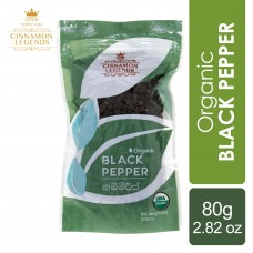 Organic Black Pepper 80 grams / 2.82 oz