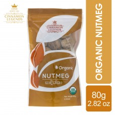 Organic Nutmeg 80 grams / 2.82 oz