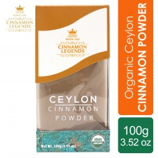 Organic Ceylon Cinnamon Powder 100 grams / 3.52 oz