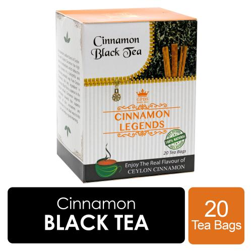 Ceylon Cinnamon Black Tea 20 Tea Bags