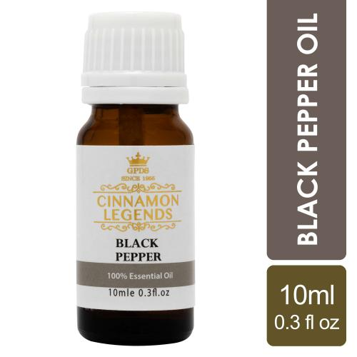 Black Pepper Oil 10 ml / 0.3 fl oz