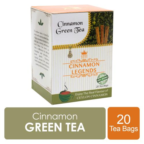 Ceylon Cinnamon Green Tea 20 Tea Bags