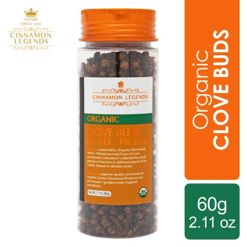 Organic Clove Buds 60 grams / 2.11 oz