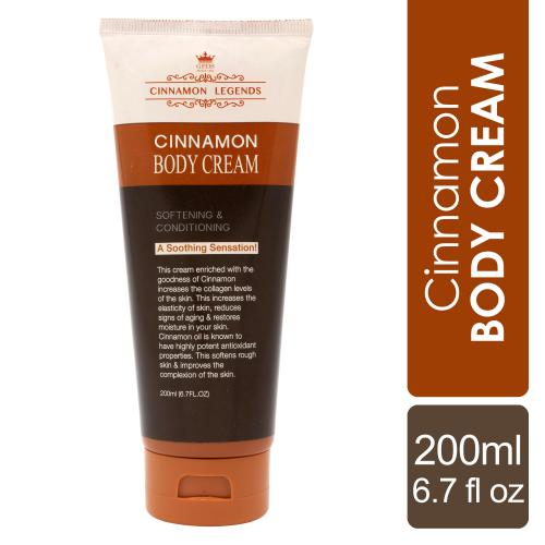 Cinnamon Body Cream 200 ml / 6.7 fl oz