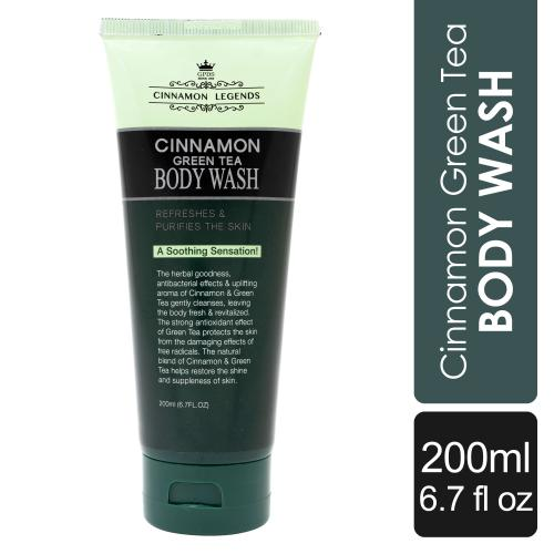 Cinnamon Green Tea Body Wash 200 ml / 6.7 fl oz